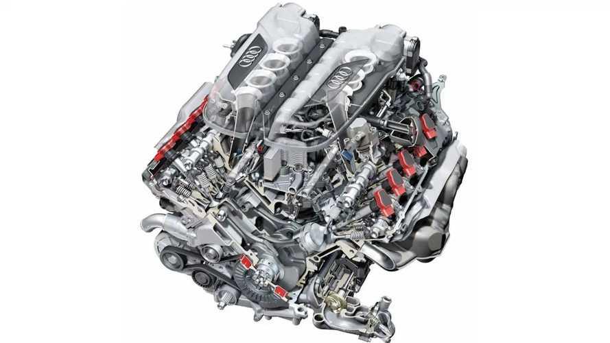 """Motore Audi V10, gioiello in alluminio """"prestato"""" a Lamborghini"""