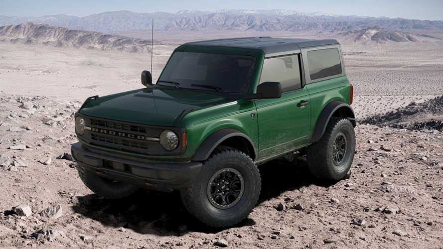2022 Ford Bronco From Configurator