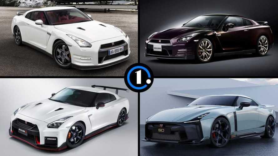 Diaporama - Toutes les versions de la Nissan GT-R R35