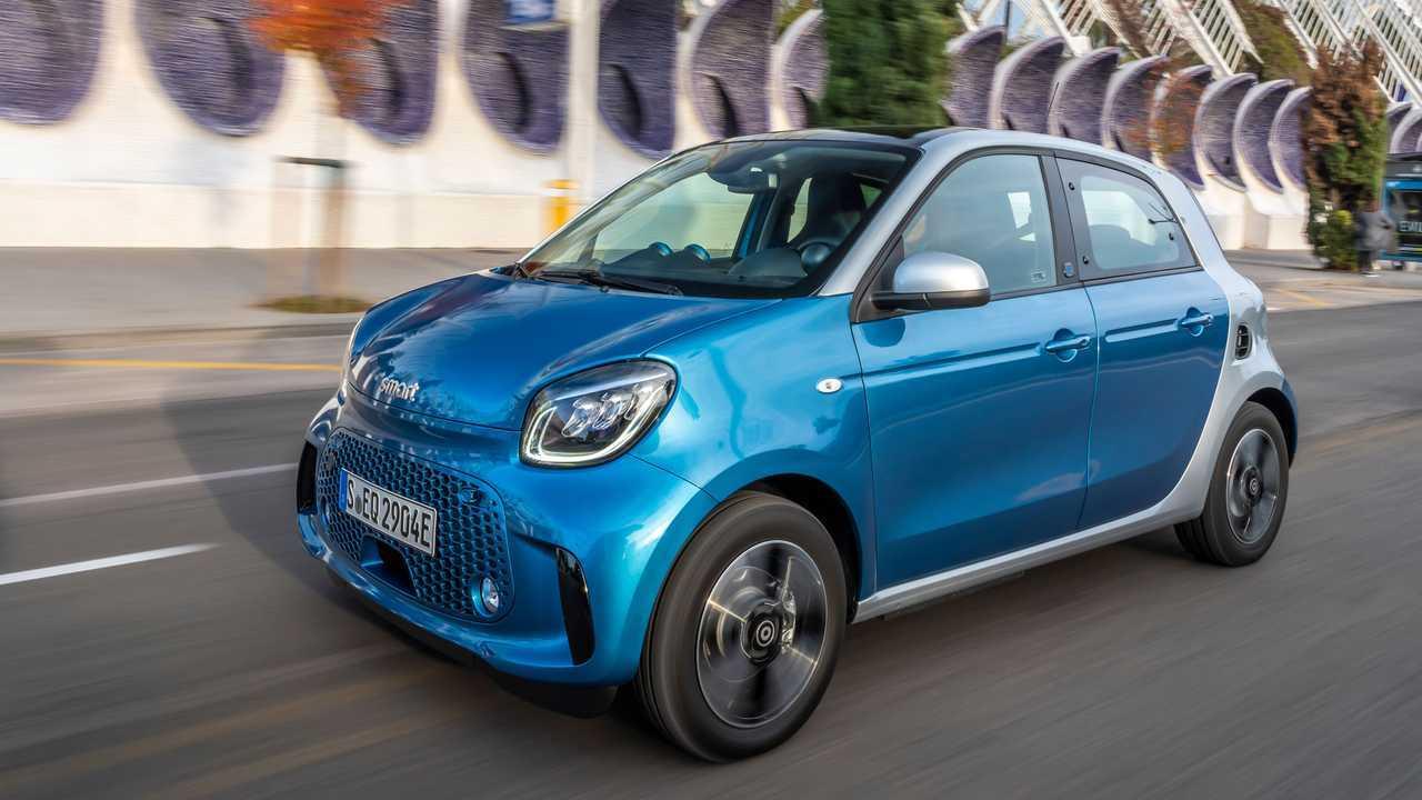 Smart EQ Forfour: Ab 22.600 Euro