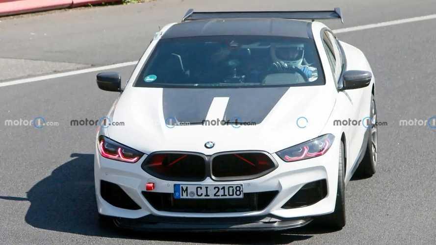 BMW M8 Test Vehicle New Spy Photos