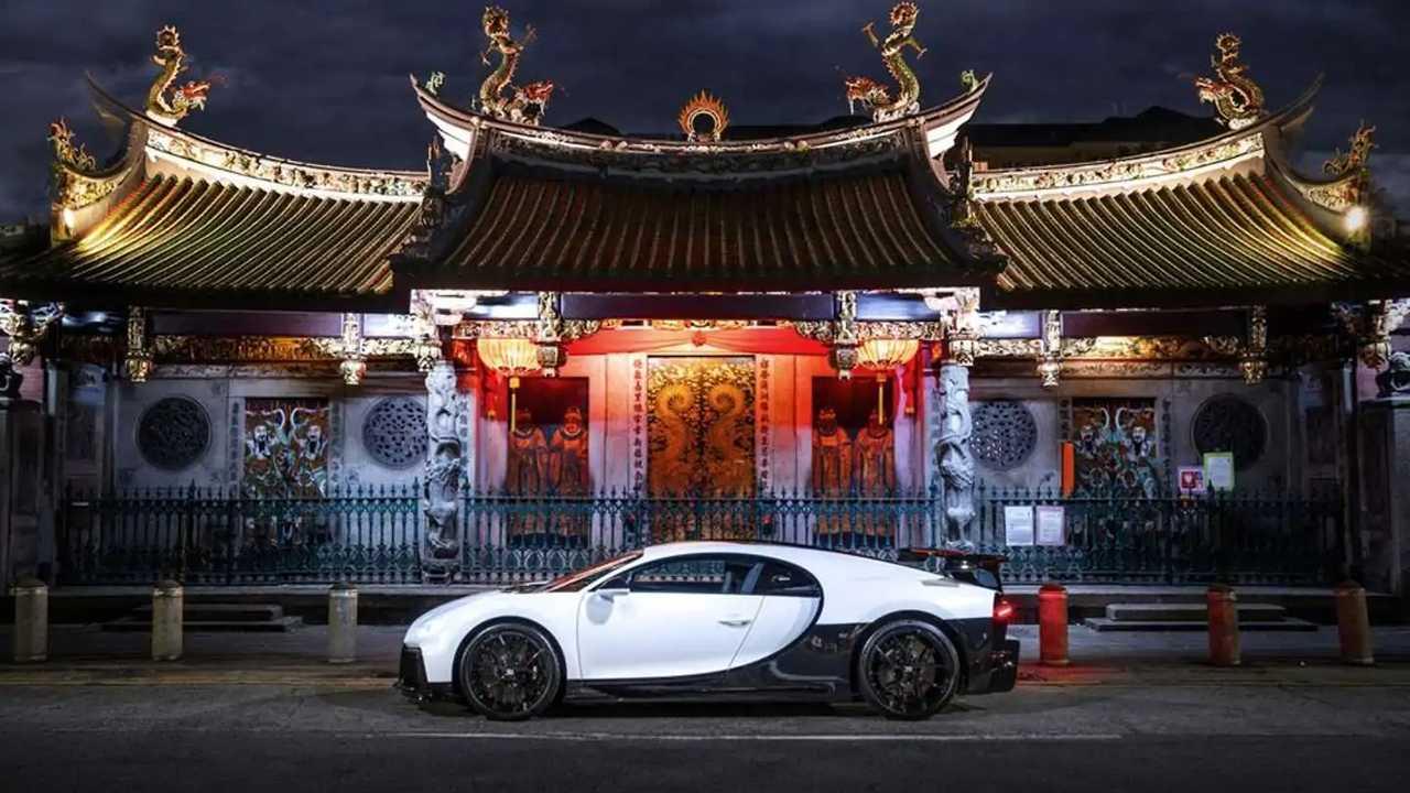 Showroom Bugatti à Singapour