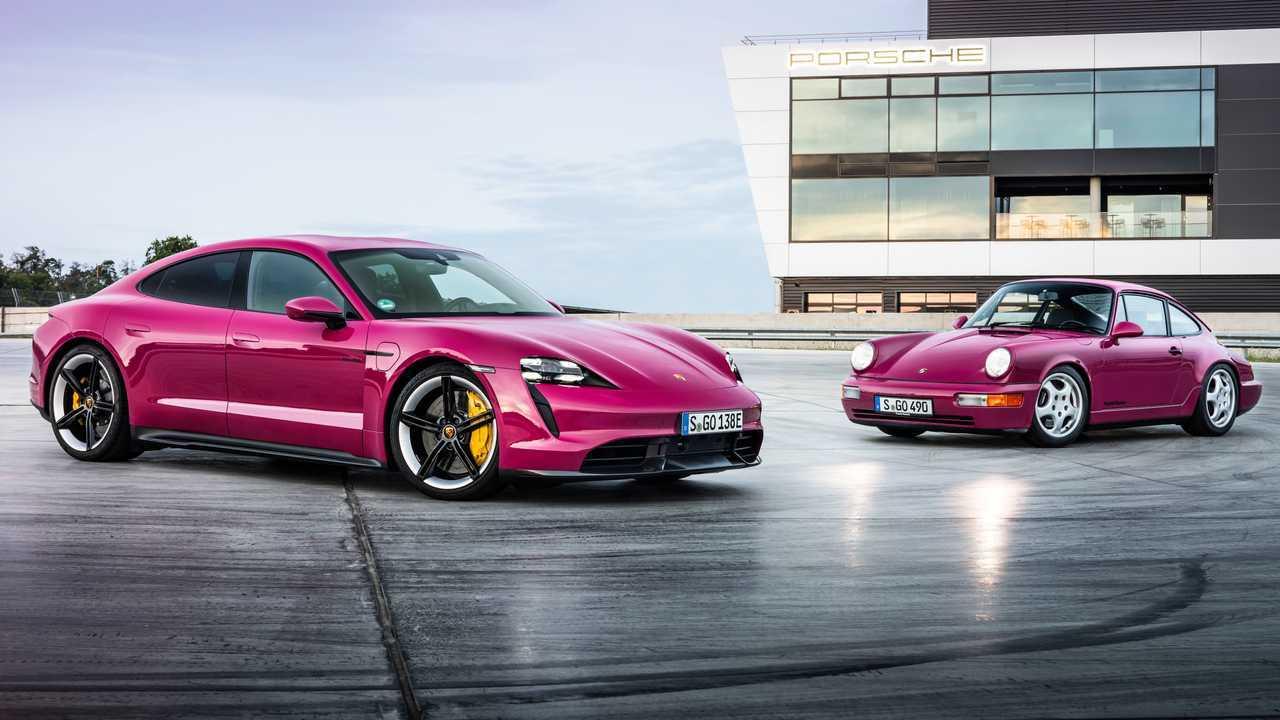 Porsche Taycan et Taycan Cross Turismo (2022)