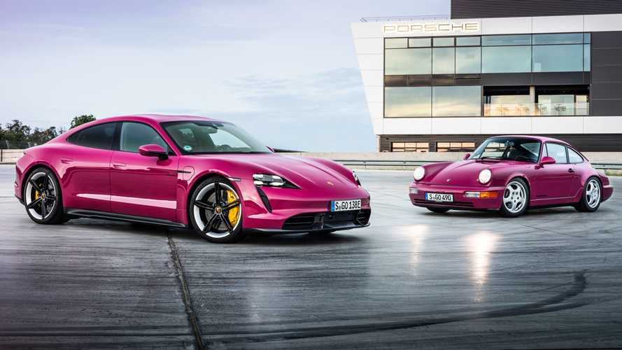 Porsche Taycan - Nouvelles fonctionnalités et nouvelles couleurs