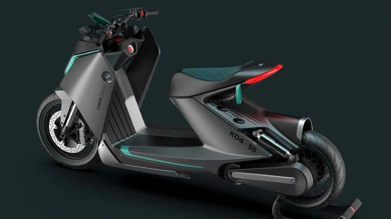 Design Studio Envisions Futuristic BMW K04-55 Scooter