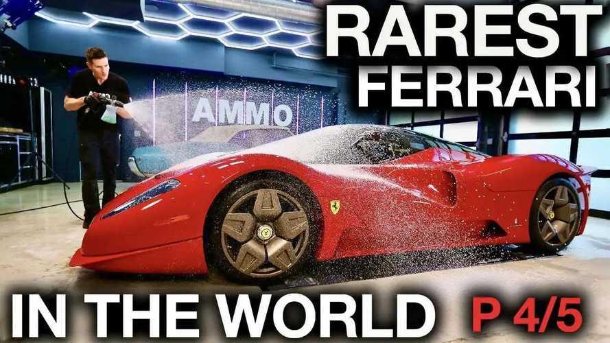 Videó: Így zajlik egy mindössze egy példányban létező Ferrari fényezése