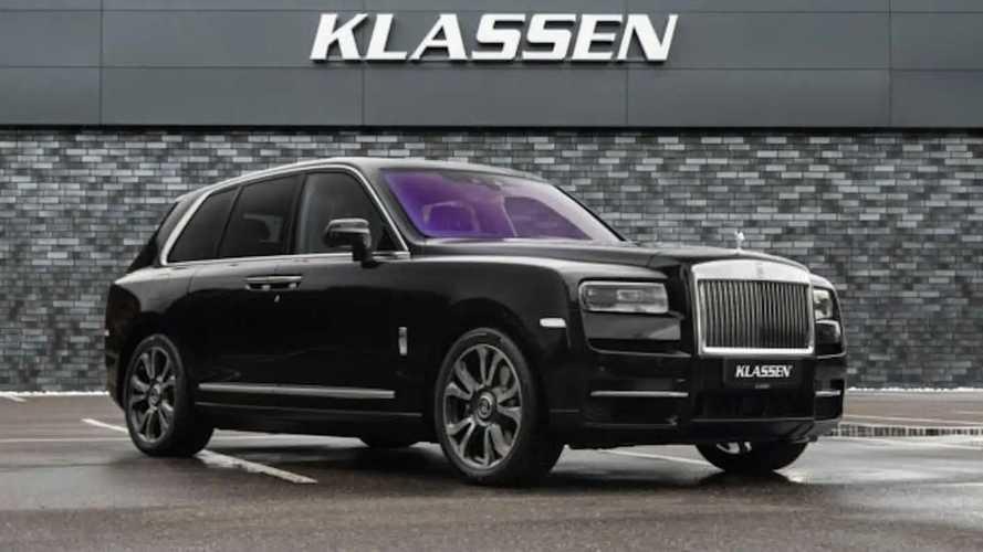 A méregdrága páncélozott Rolls-Royce SUV nemcsak gyönyörű, hanem extrán biztonságos is