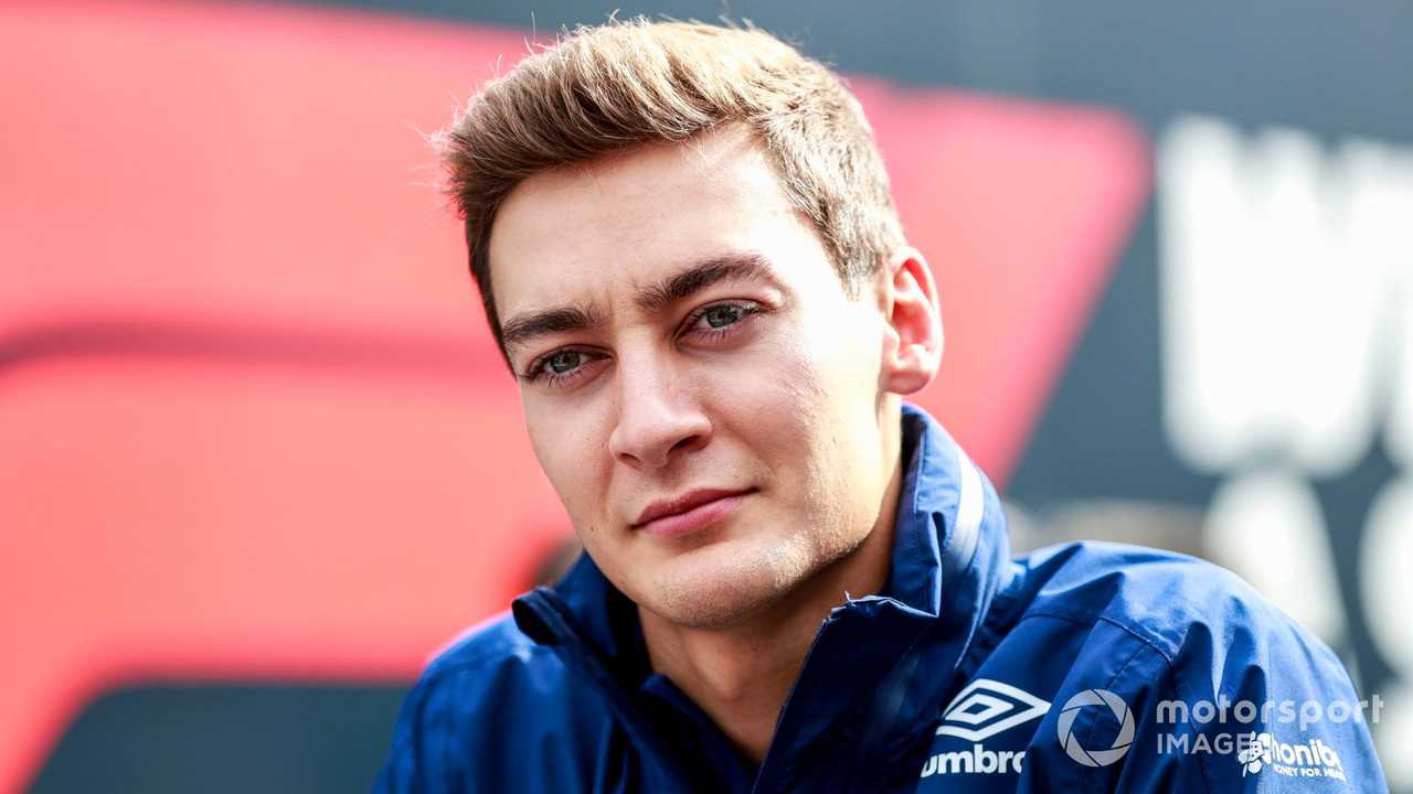George Russell at Dutch GP 2021