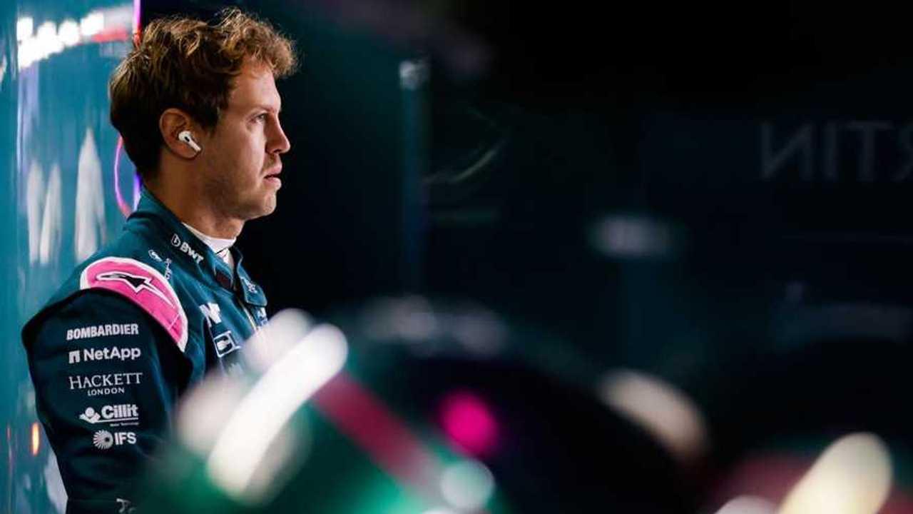 Sebastian Vettel at Italian GP 2021
