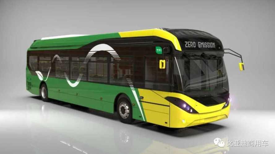 BYD получил первый заказ на электробусы из Ирландии