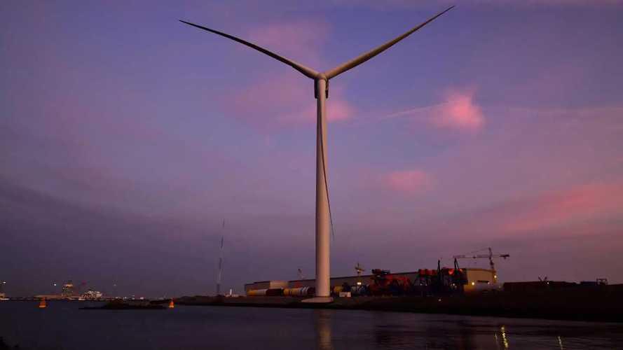 Vidéo - L'éolienne la plus puissante du monde est spectaculaire !