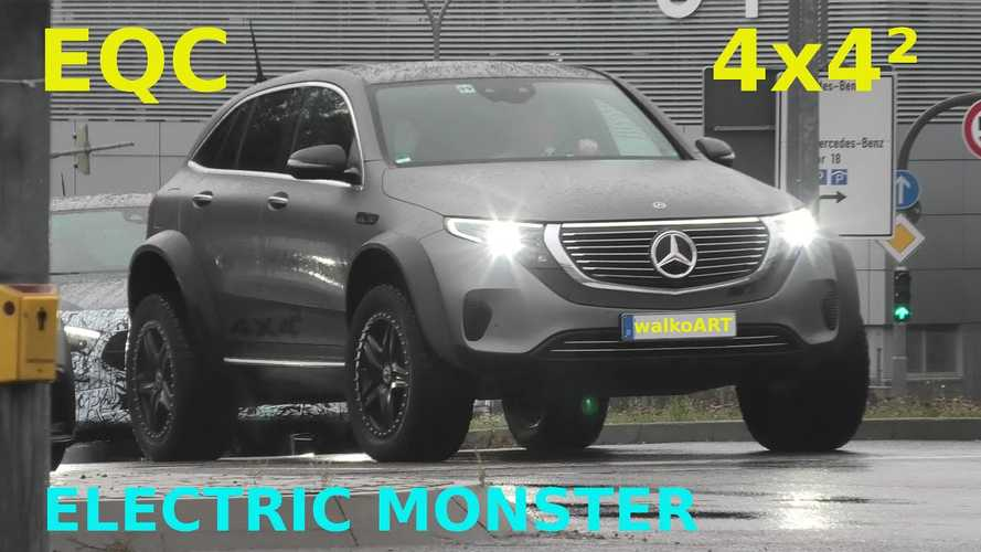 Why Is Mercedes Still Testing The EQC 4x4²?