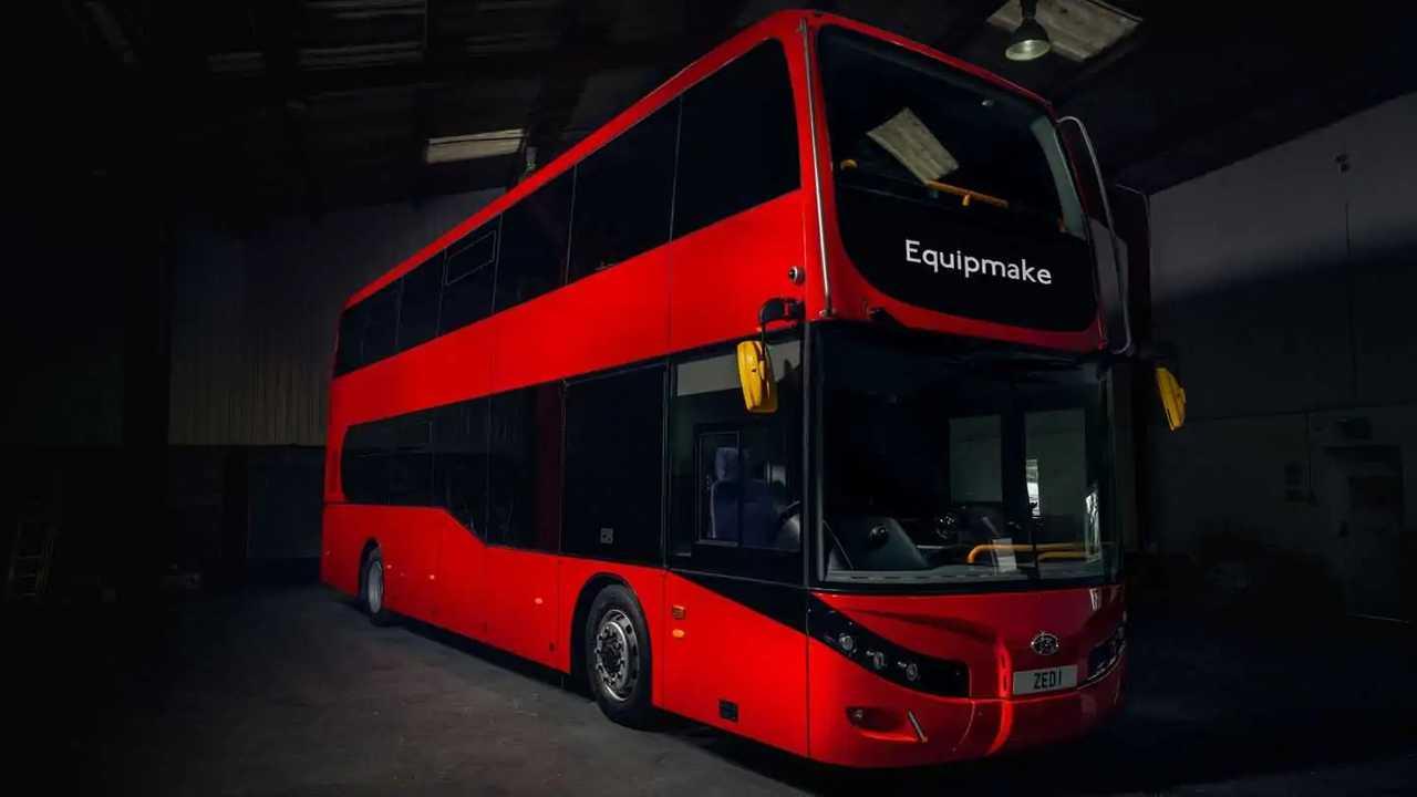 Jewel E All-Electric Double Decker Bus