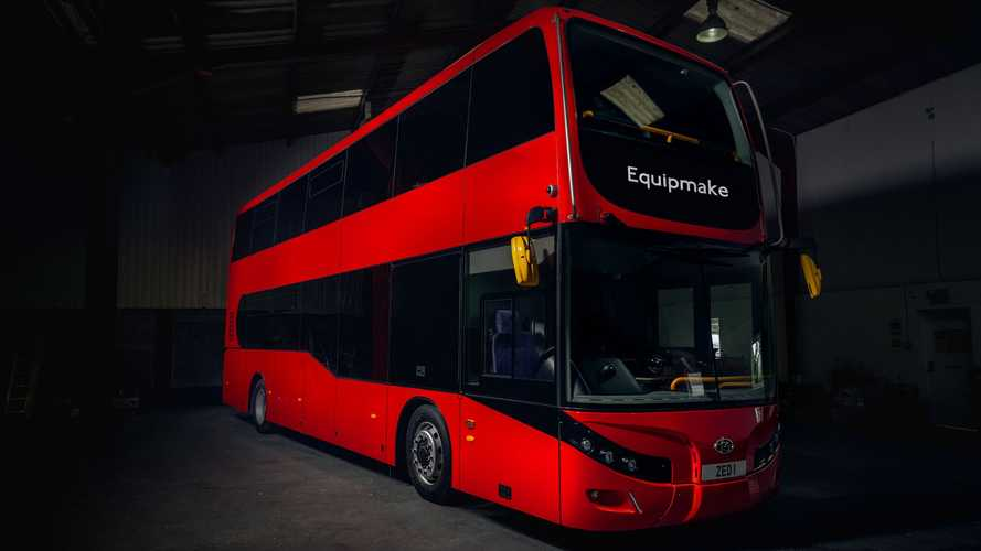 Double decker bus goes electric with 3,500 Nm of torque