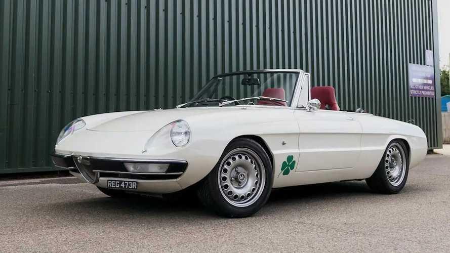 El Alfa Romeo Spider más rápido del mundo está en venta