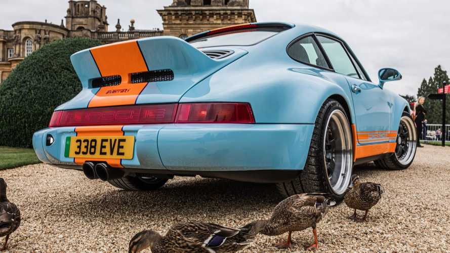 Porsche Gulf Signature Edition EV de Everrati
