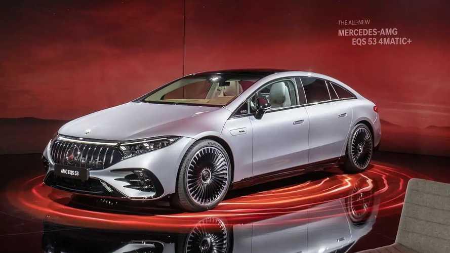Mercedes-AMG EQS debütiert mit bis zu 789 PS