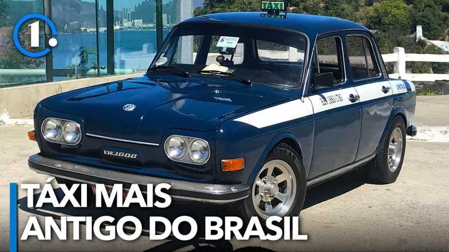 Incrível: a história do táxi mais antigo em atividade no Brasil