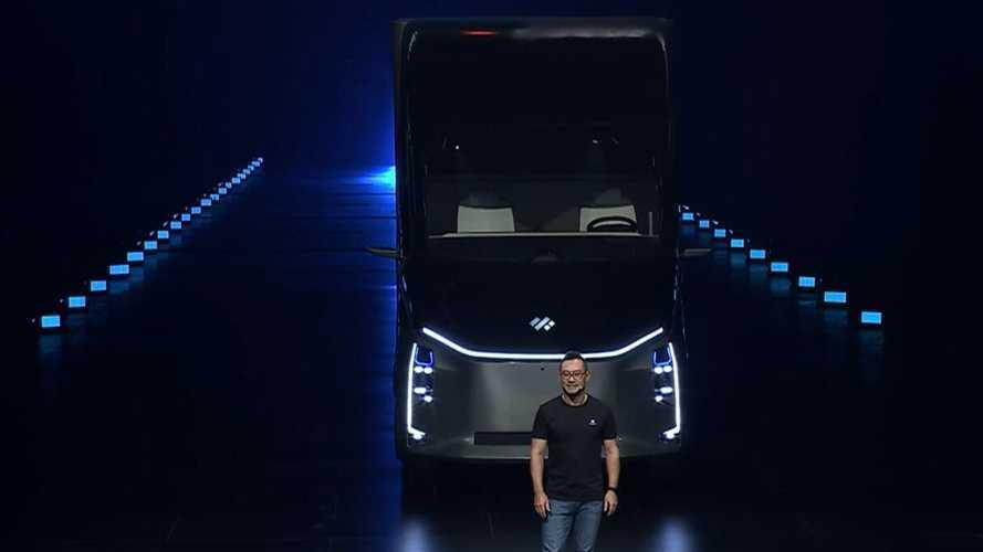 DeepWay представил грузовик с возможностью автономной работы