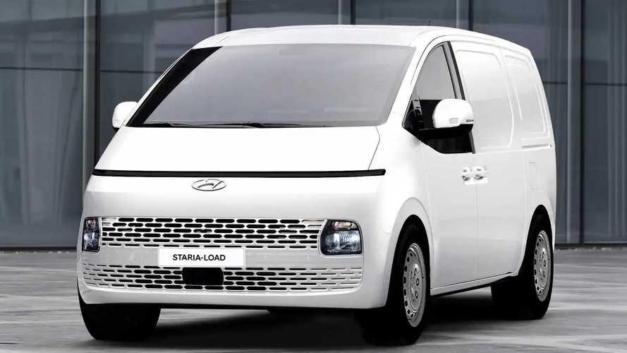 У Hyundai Staria появилась коммерческая версия для грузоперевозок