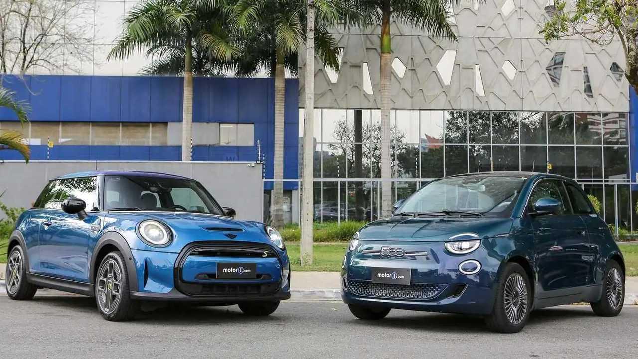 Mini Cooper SE vs. Fiat 500e
