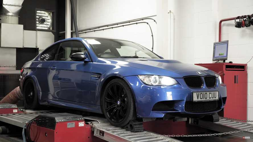 High-mile BMW E92 M3 dyno test shows importance of good spark plugs