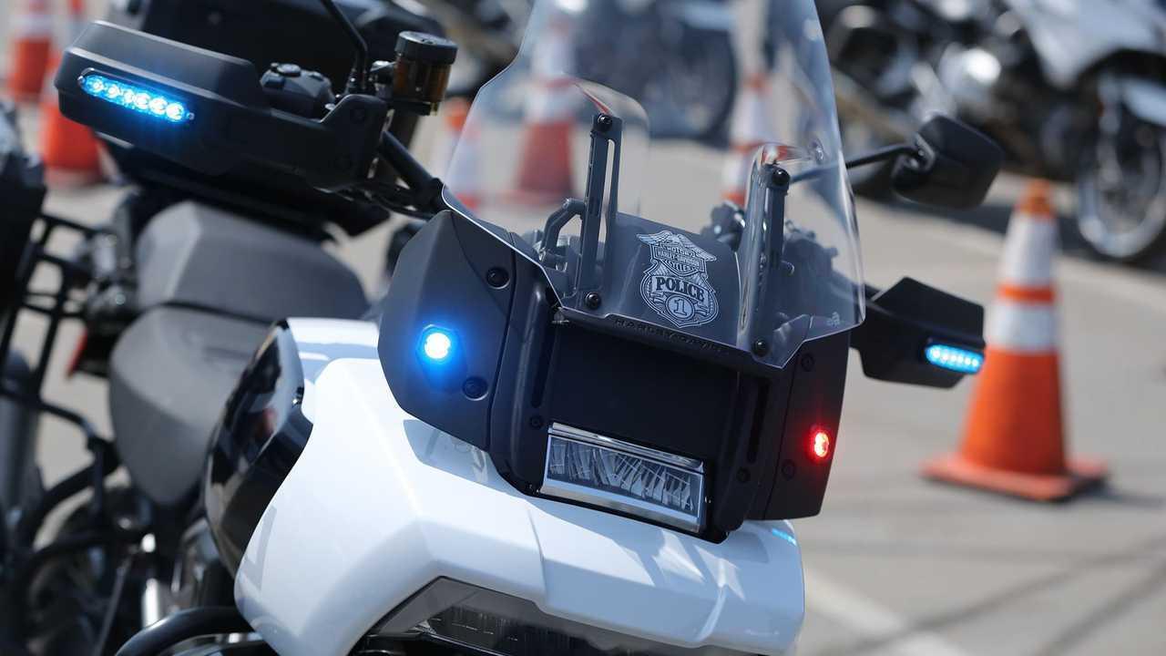 Harley-Davidson Pan America Police Concept