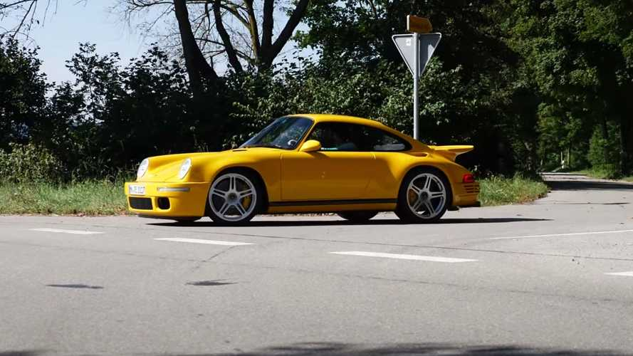 RUF CTR Shows Impressive Acceleration On Tree-Lined Roads