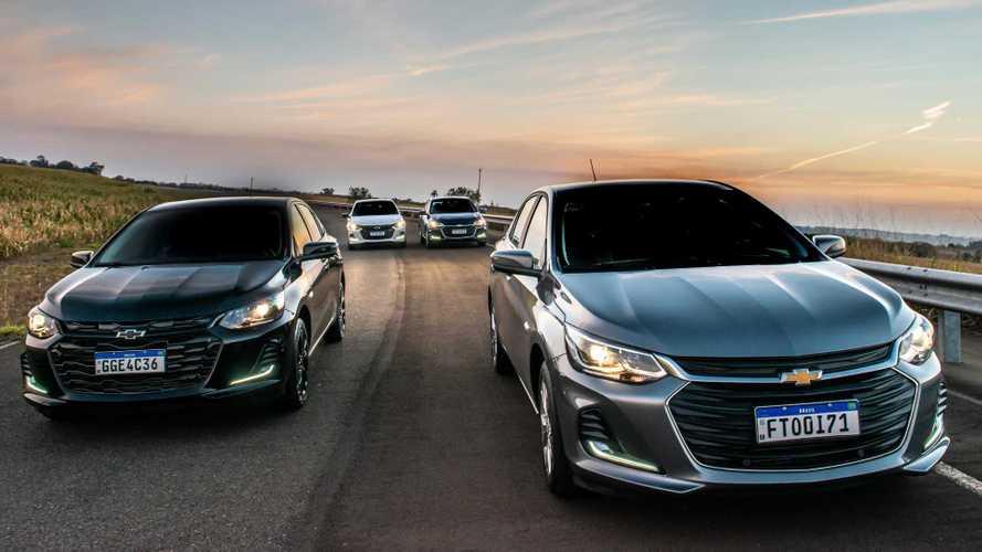 Chevrolet Onix 2022 chegará às concessionárias em setembro