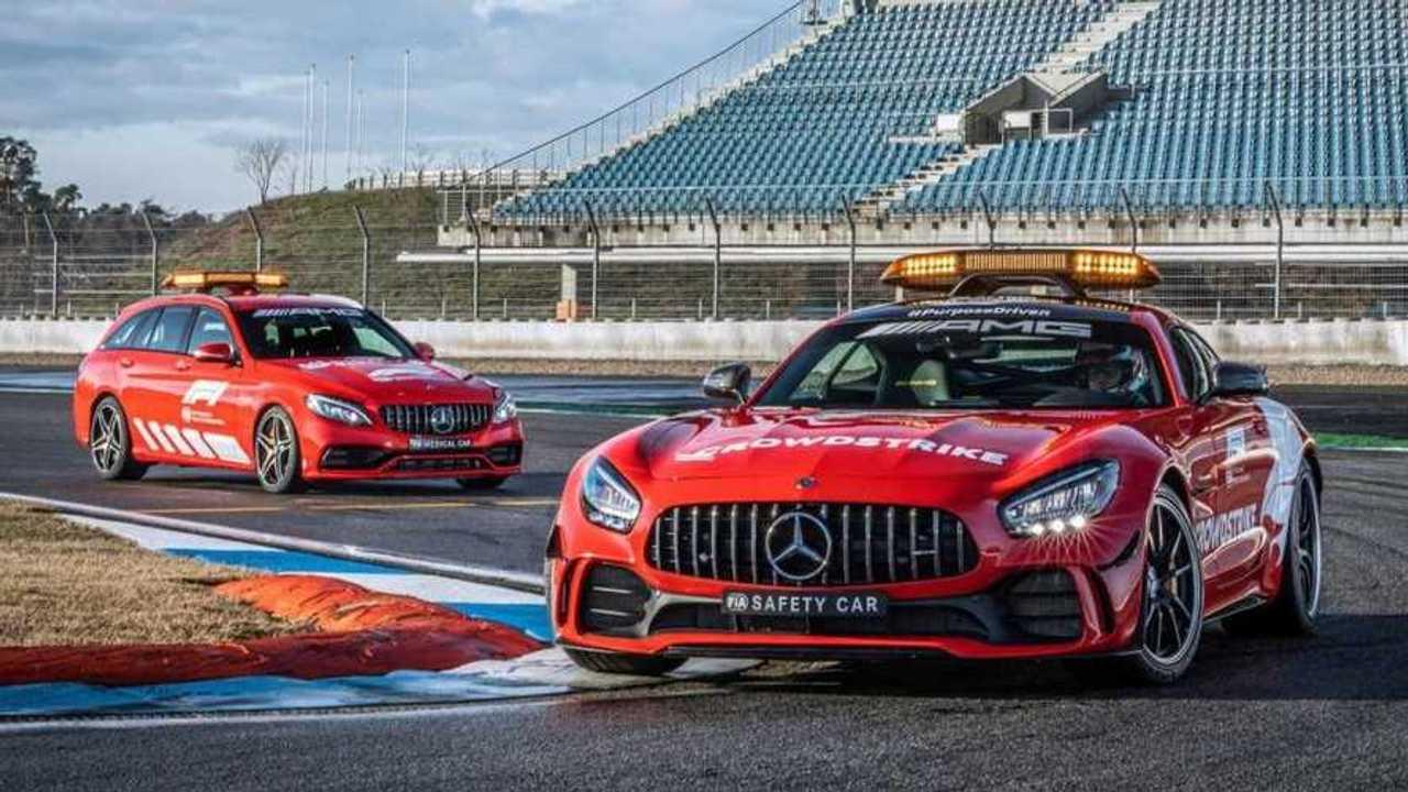 Safety Car Formula 1 Mercedes-AMG GT R
