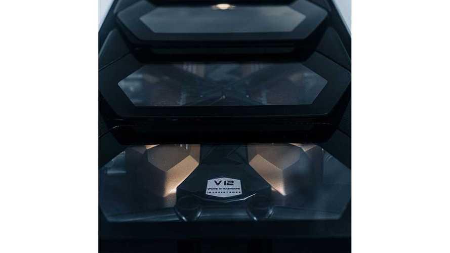 Lamborghini Countach Instagram Teaser
