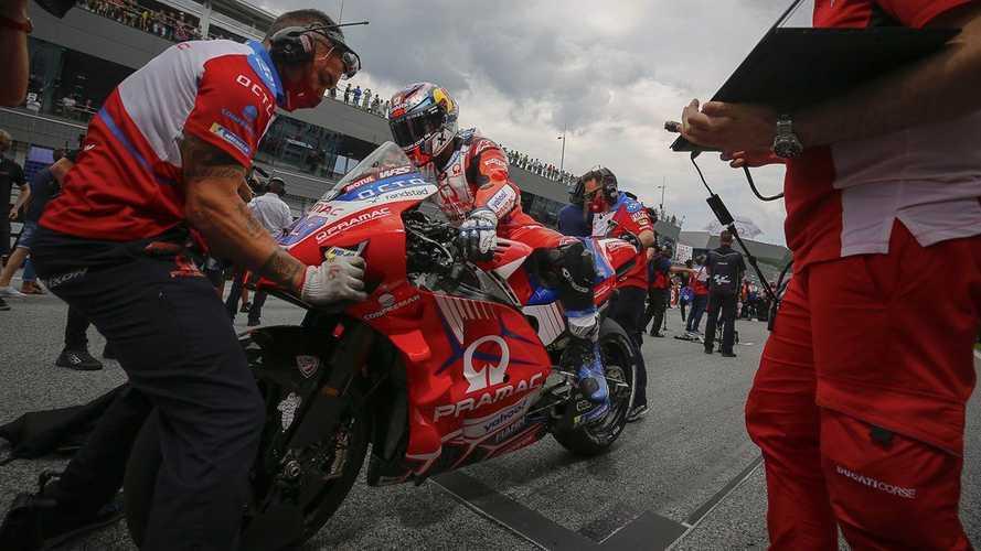 Los éxitos de Martín llegan tarde para la Ducati oficial en 2022