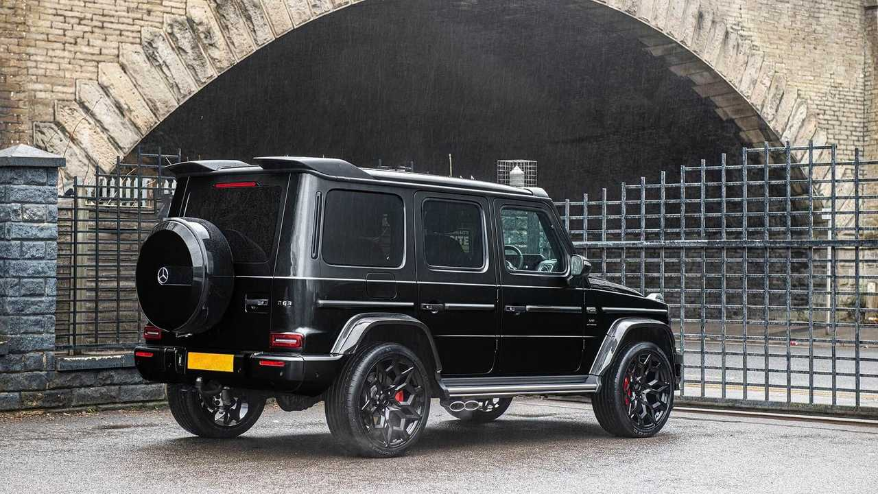 The Mercedes-Benz G-Class Carbon Wide Track Edition From Kahn Automobiles.