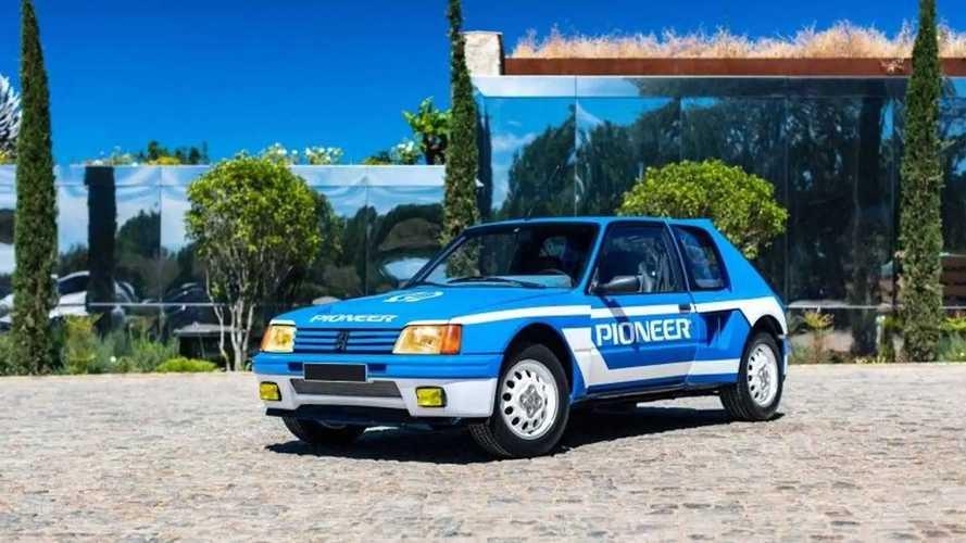 Este espectacular Peugeot 205 T16, vendido por 274.000 euros