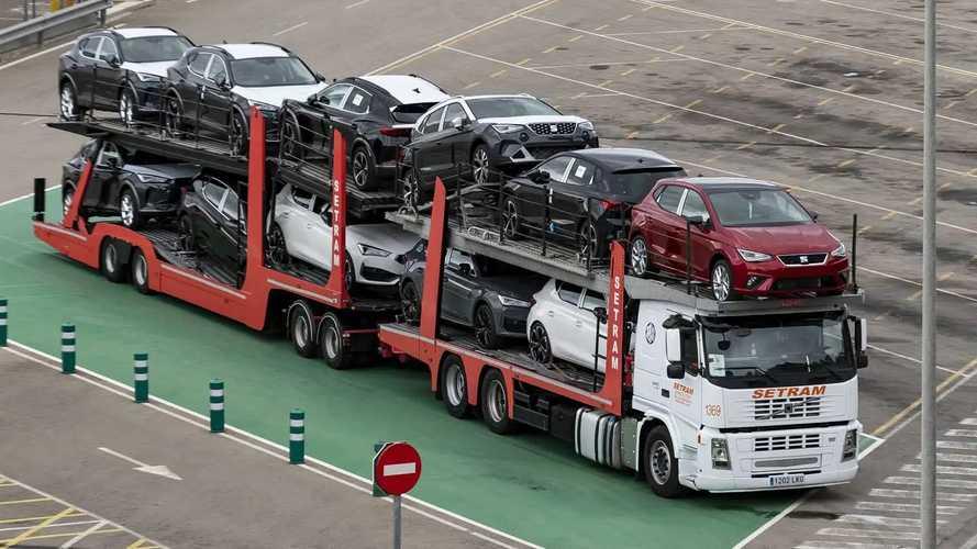 Seat, ecco il super-tir per il trasporto di vetture