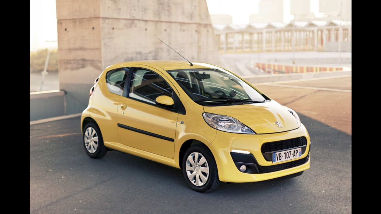 Peugeot 107 restyling 2012