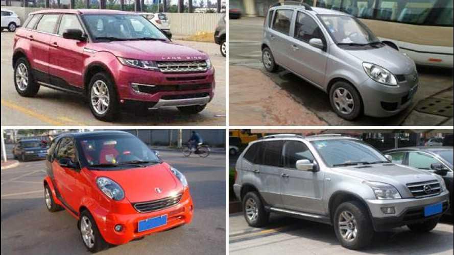 Cloni cinesi di auto famose, una storia senza fine