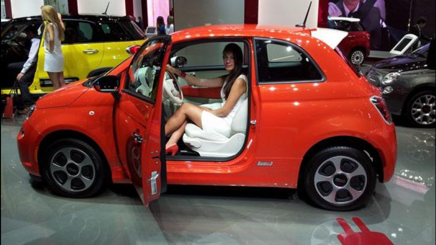 Salone di Francoforte: Volwswagen Up e Fiat 500 elettriche [VIDEO]