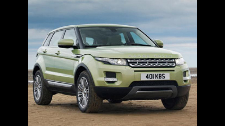 Evoque è la prima Jaguar-Land Rover Made in China