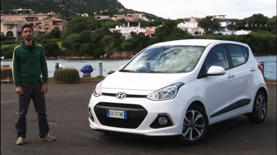 Nuova Hyundai i10, prova su strada [VIDEO]