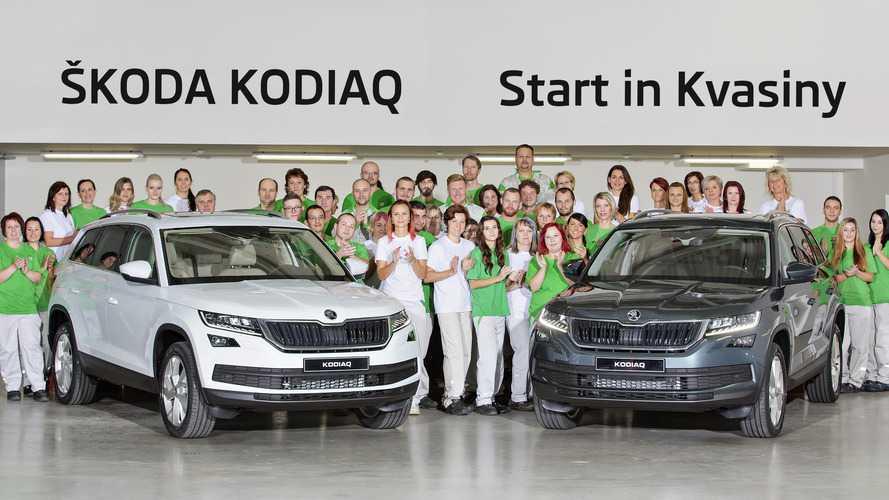 La production du Skoda Kodiaq est lancée!
