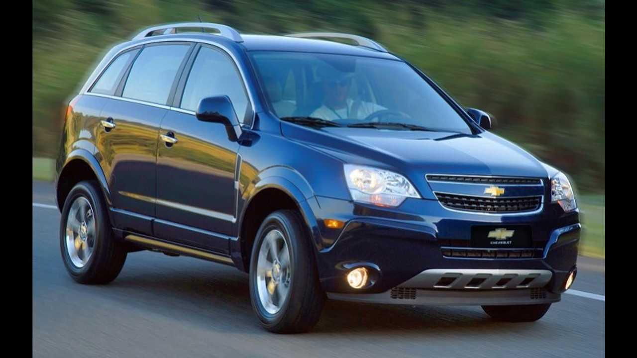 Recall: Chevrolet Captiva pode desligar sozinho