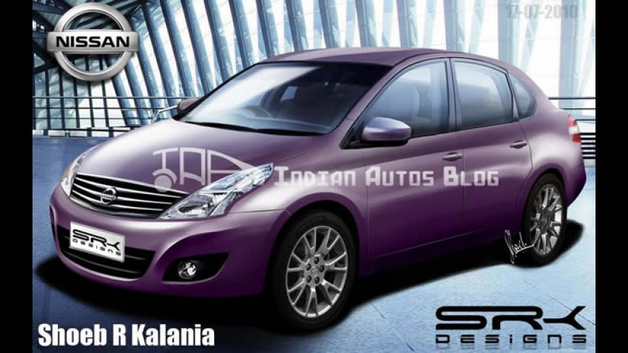 Projeção: Nissan March Sedan 2011