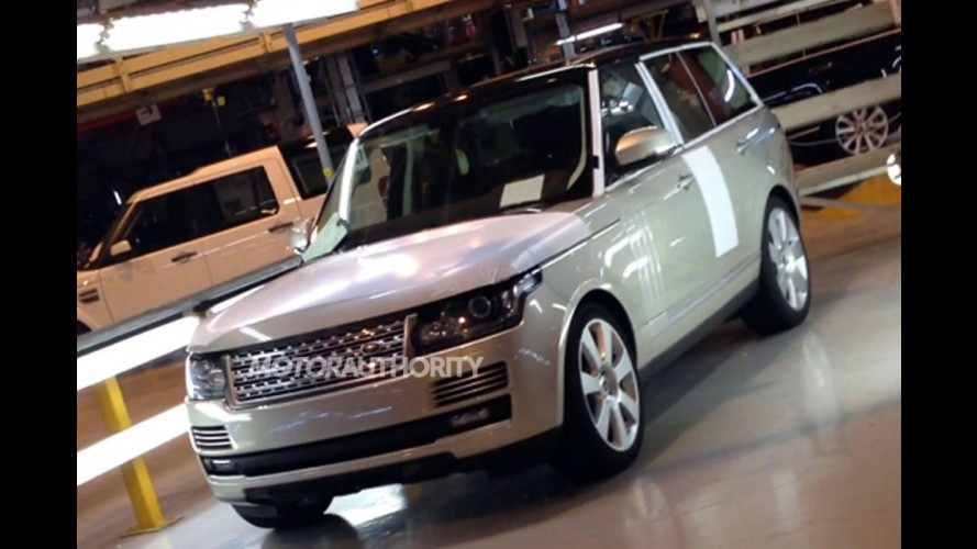 Nova geração do Range Rover Vogue é flagrada totalmente sem disfarces