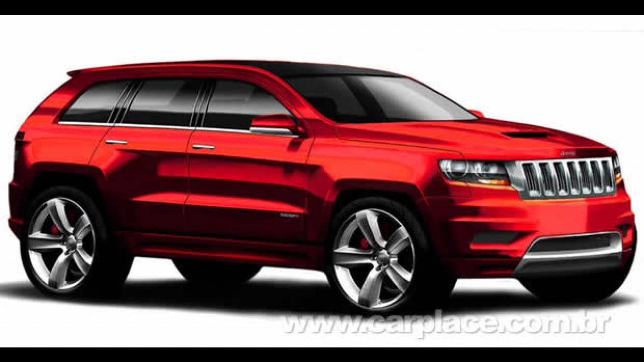 Chrysler divulga projeção do futuro Jeep Grand Cherokee SRT8 2012