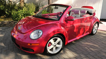 Pink Barbie New Beetle Convertible
