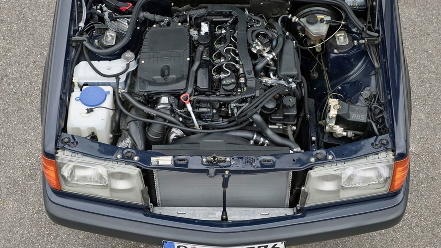 Mercedes-Benz 190 D BlueEfficiency - 1992 Mercedes 190 E 2.6 Sportline retrofitted