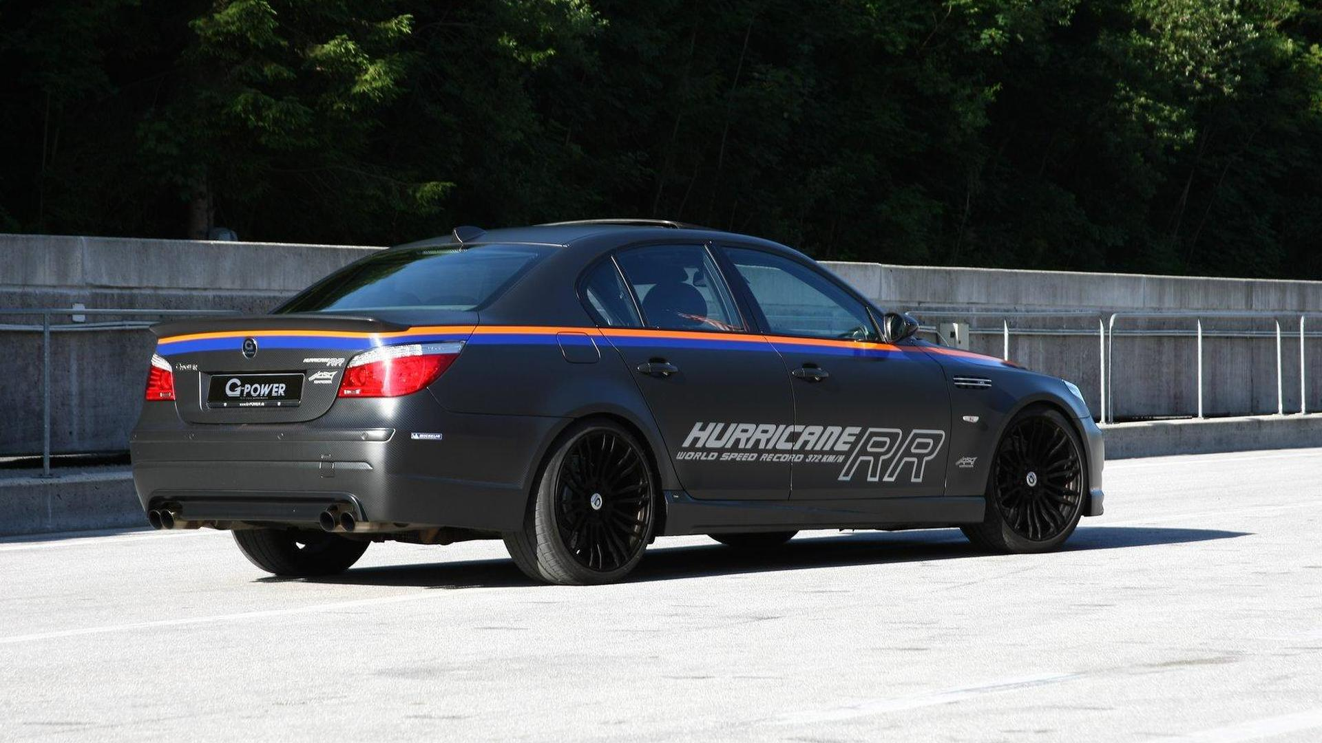 G Power M5 Hurricane Rr Becomes World S Fastest Sedan At 372 Km H
