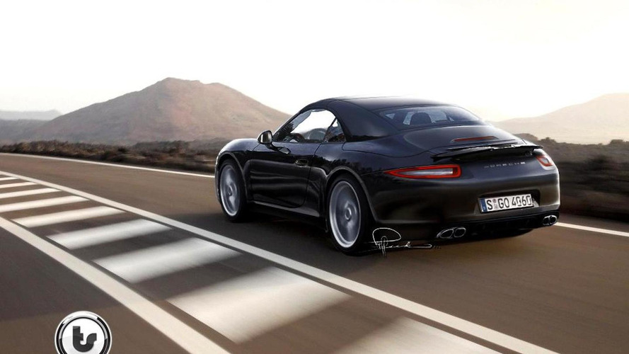 Rendered: 2012 Porsche 911 Cabriolet inspired by 918 Concept