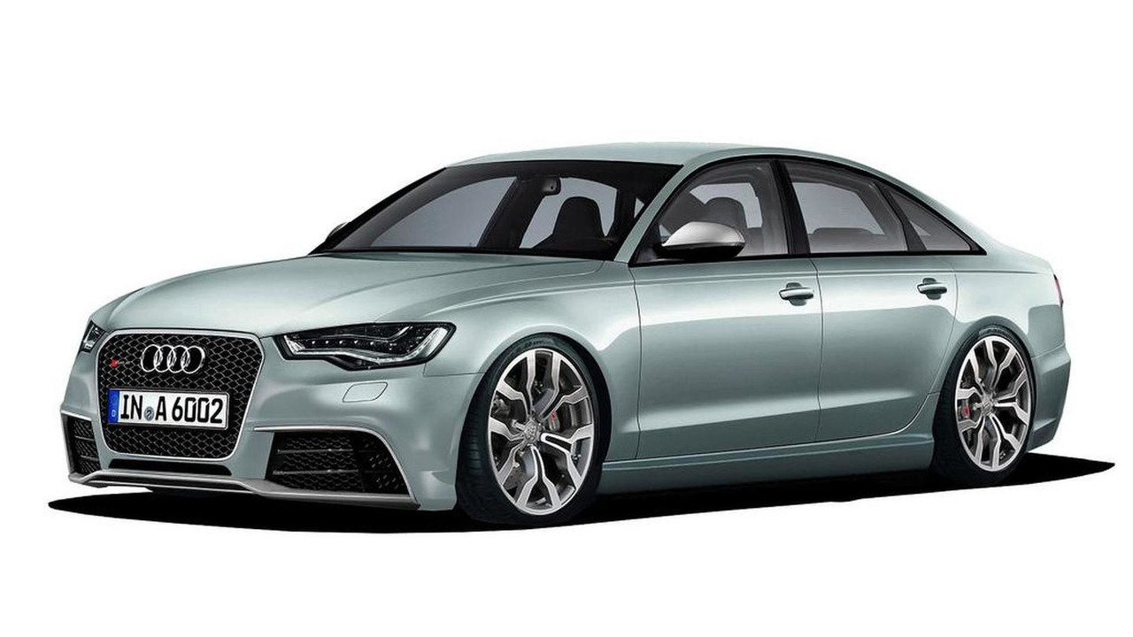 2013 Audi RS6 rendering